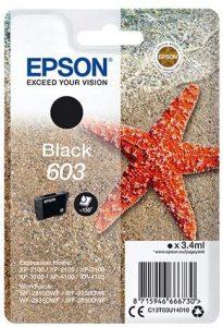 Cartouches Epson 603 Noir